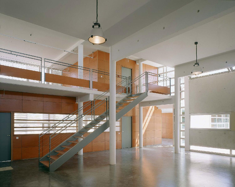 atrium - Bibliothèque départementale de Saint-Rémy-de-Provence - TAUTEM Architecture