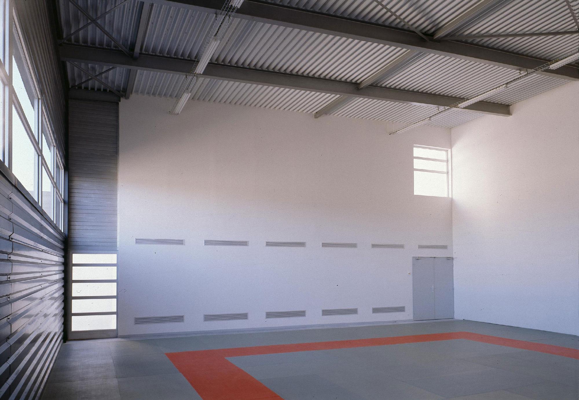 Centre social culturel et sportif de Valdegour - Nîmes - TAUTEM Architecture - Salle de judo