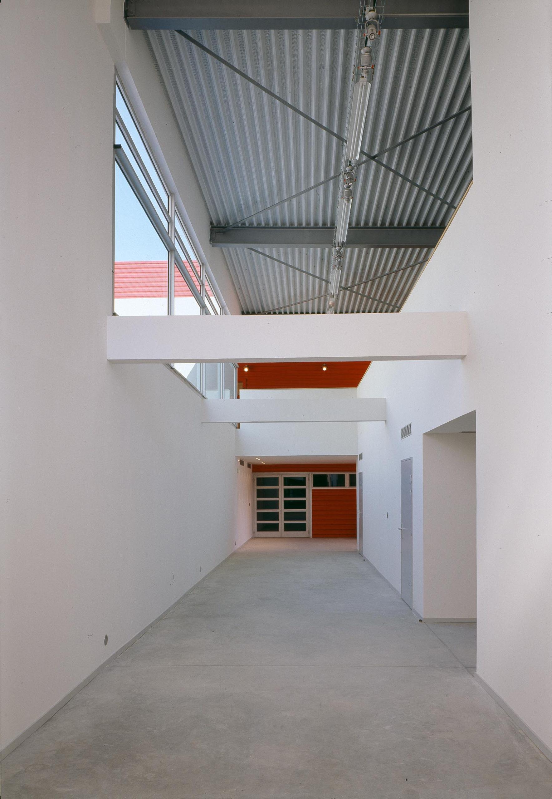 Centre social culturel et sportif de Valdegour - Nîmes - TAUTEM Architecture - circulations