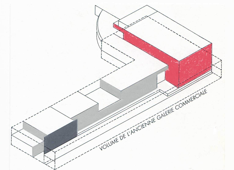 Centre social culturel et sportif de Valdegour - Nîmes - TAUTEM Architecture - croquis