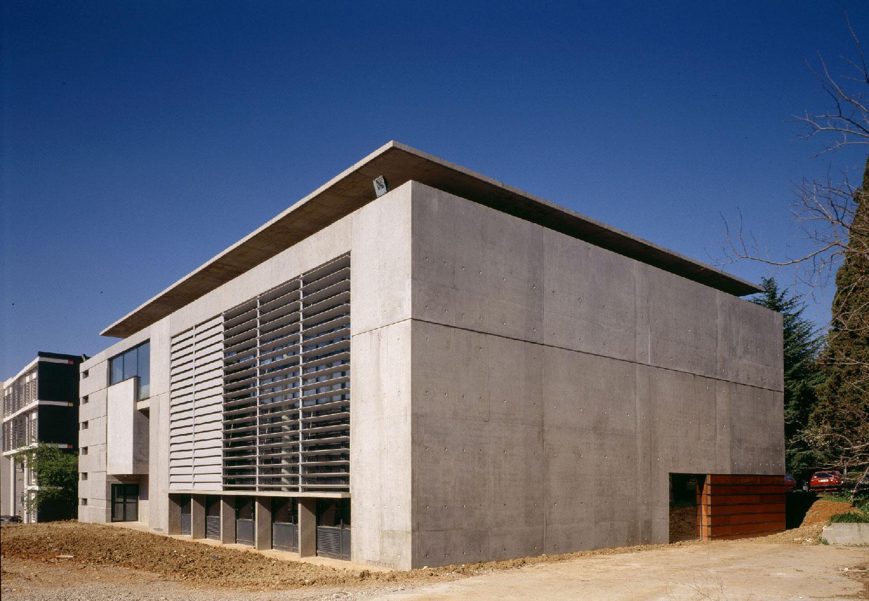 Bibliothèque universitaire Paul Valéry - Montpellier - TAUTEM Architecture - façade en béton