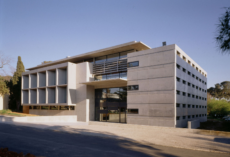 Bibliothèque universitaire Paul Valéry - Montpellier - TAUTEM Architecture - Entrée