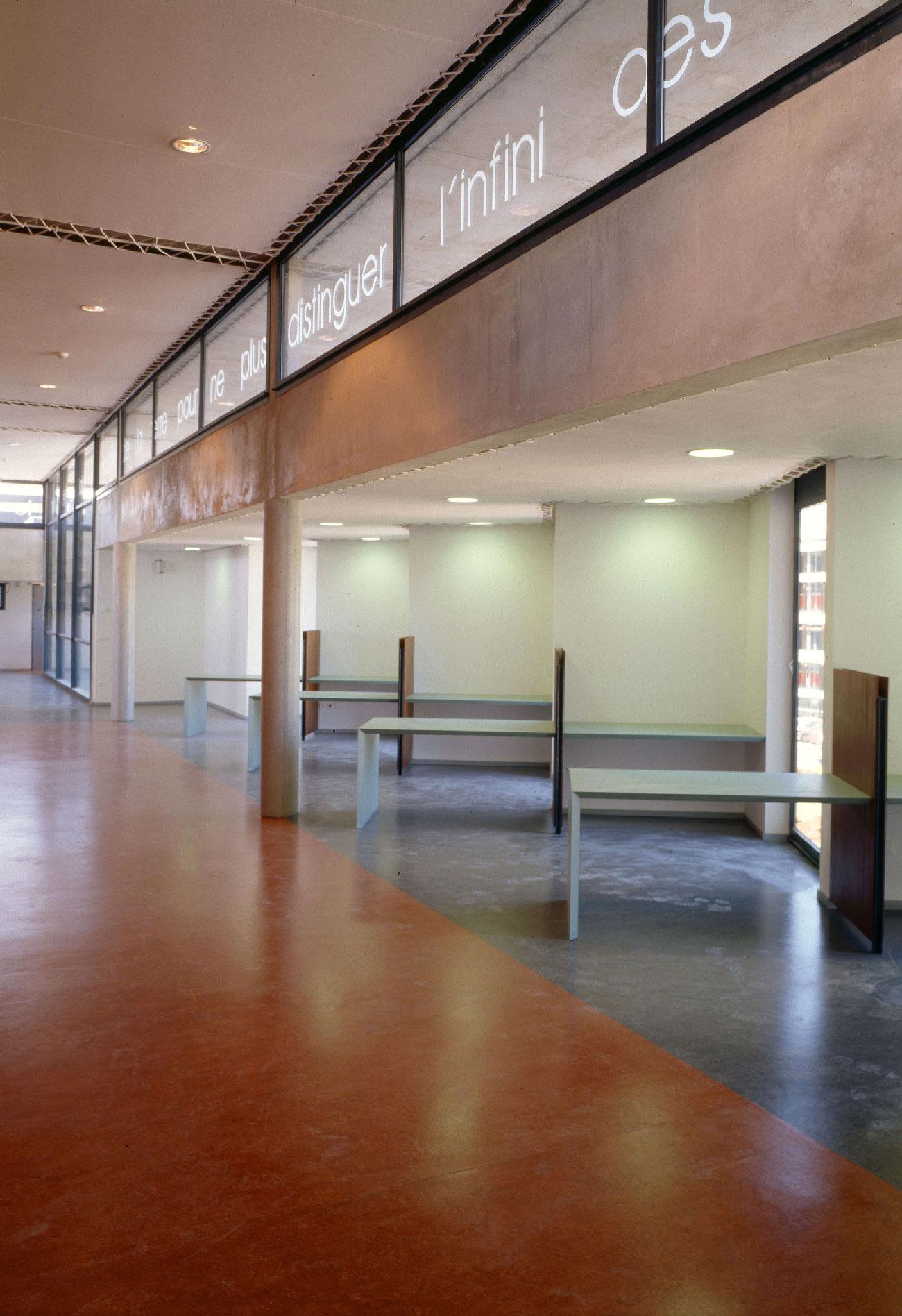 Bibliothèque universitaire Paul Valéry - Montpellier - TAUTEM Architecture - vue intérieure