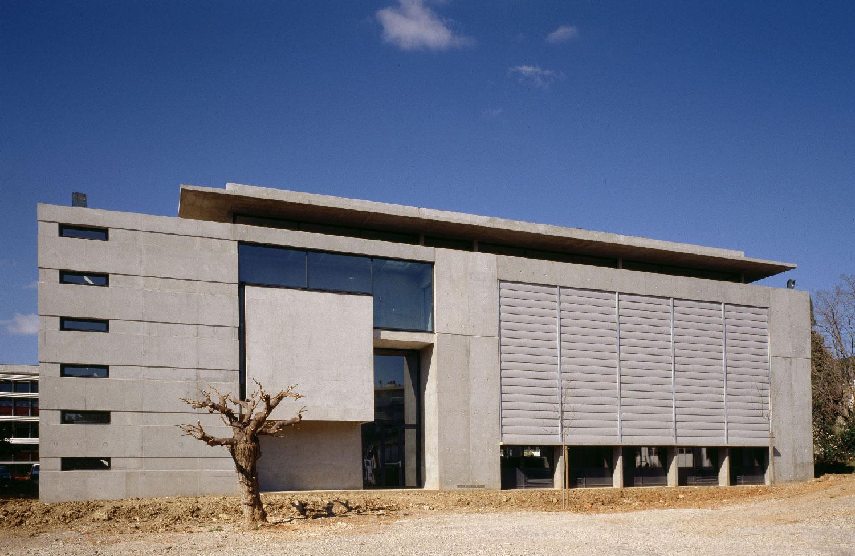 Bibliothèque universitaire Paul Valéry - Montpellier - TAUTEM Architecture - façade