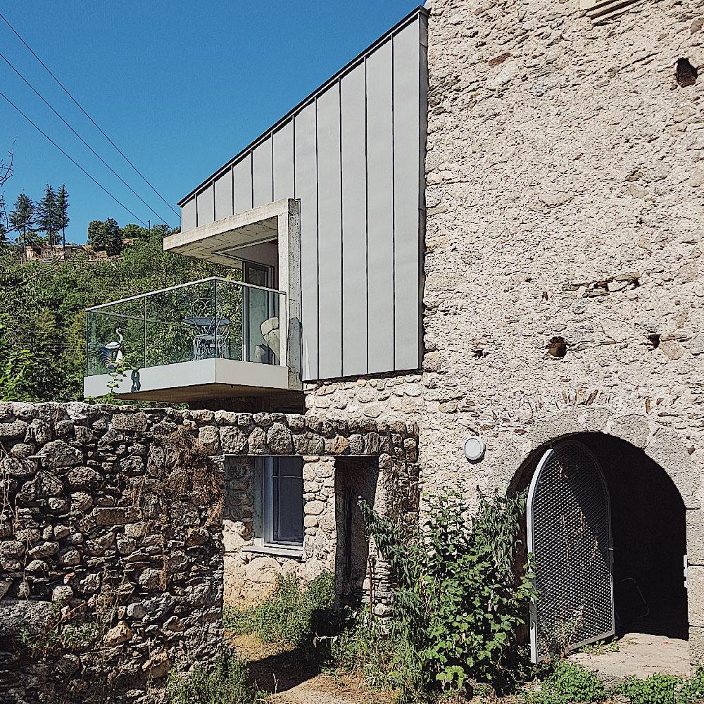 extension d'une maison au Vigan - Gard - TAUTEM Architecture