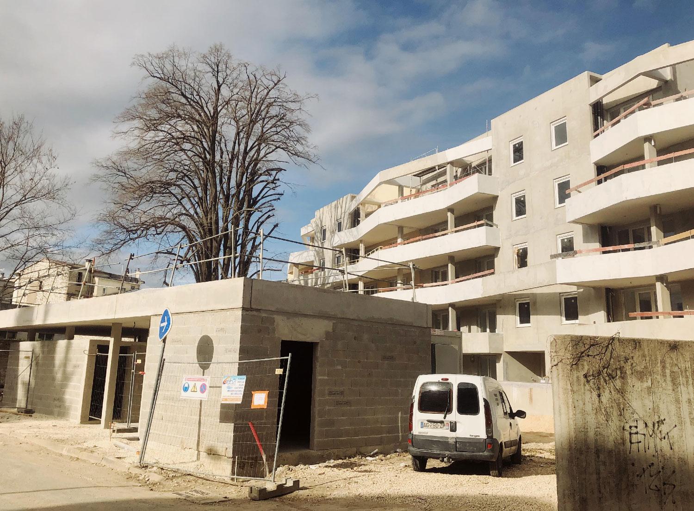 Résidence les villégiales de la Baronnie - Alès - Chantier - TAUTEM Architecture