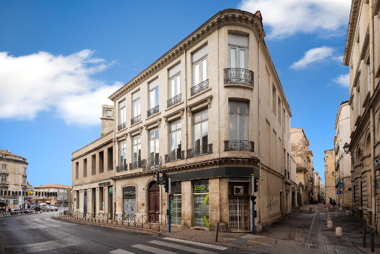 Agence TAUTEM Architecture - Vue de la façade - boulevard Victor Hugo - Montpellier