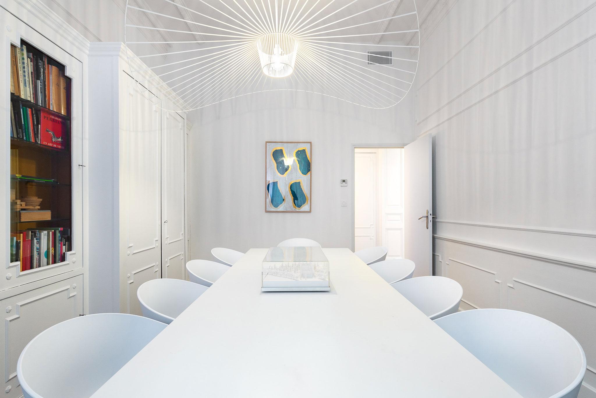 Salle de réunion - Agence TAUTEM Architecture - Montpellier