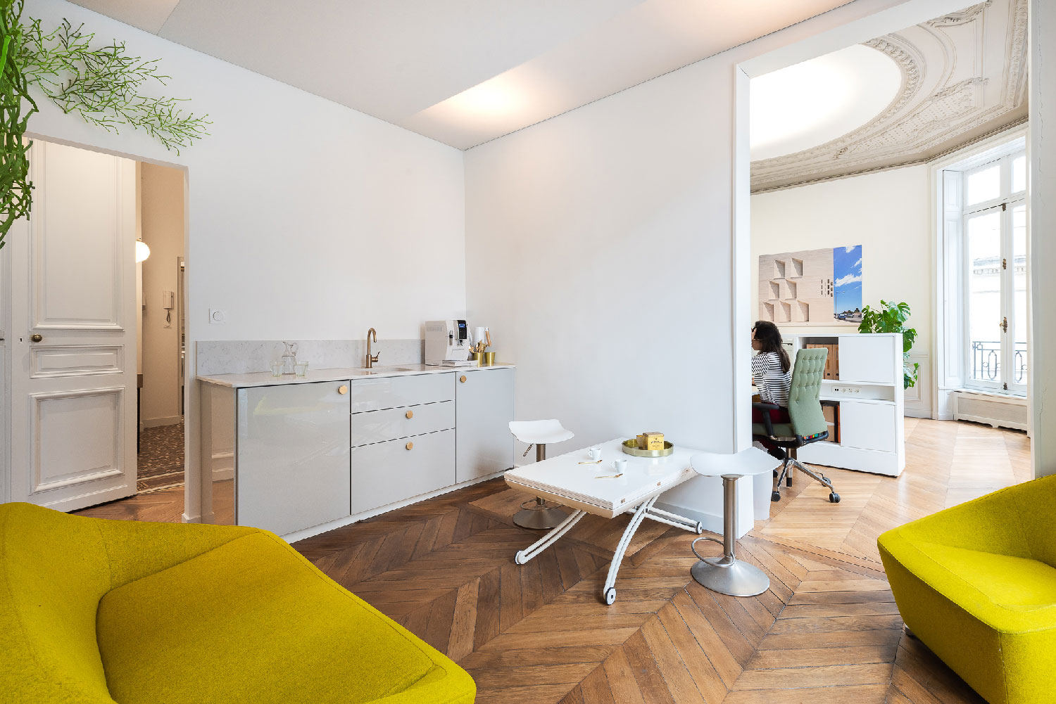 Espace Lounge - Agence TAUTEM Architecture - Montpellier