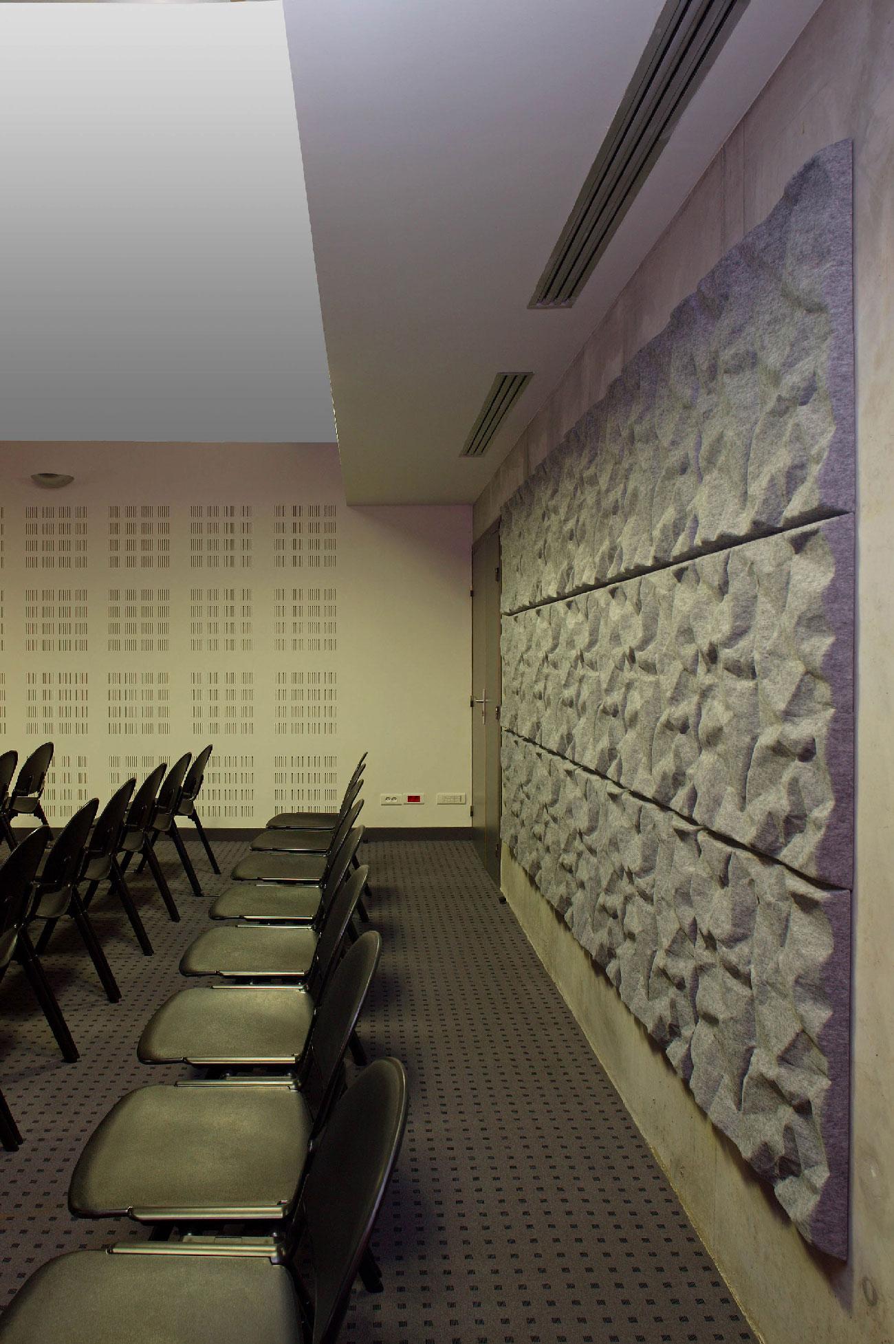 Centre des examens des permis de conduire de Nimes - TAUTEM Architecture - détail de la salle d'examen
