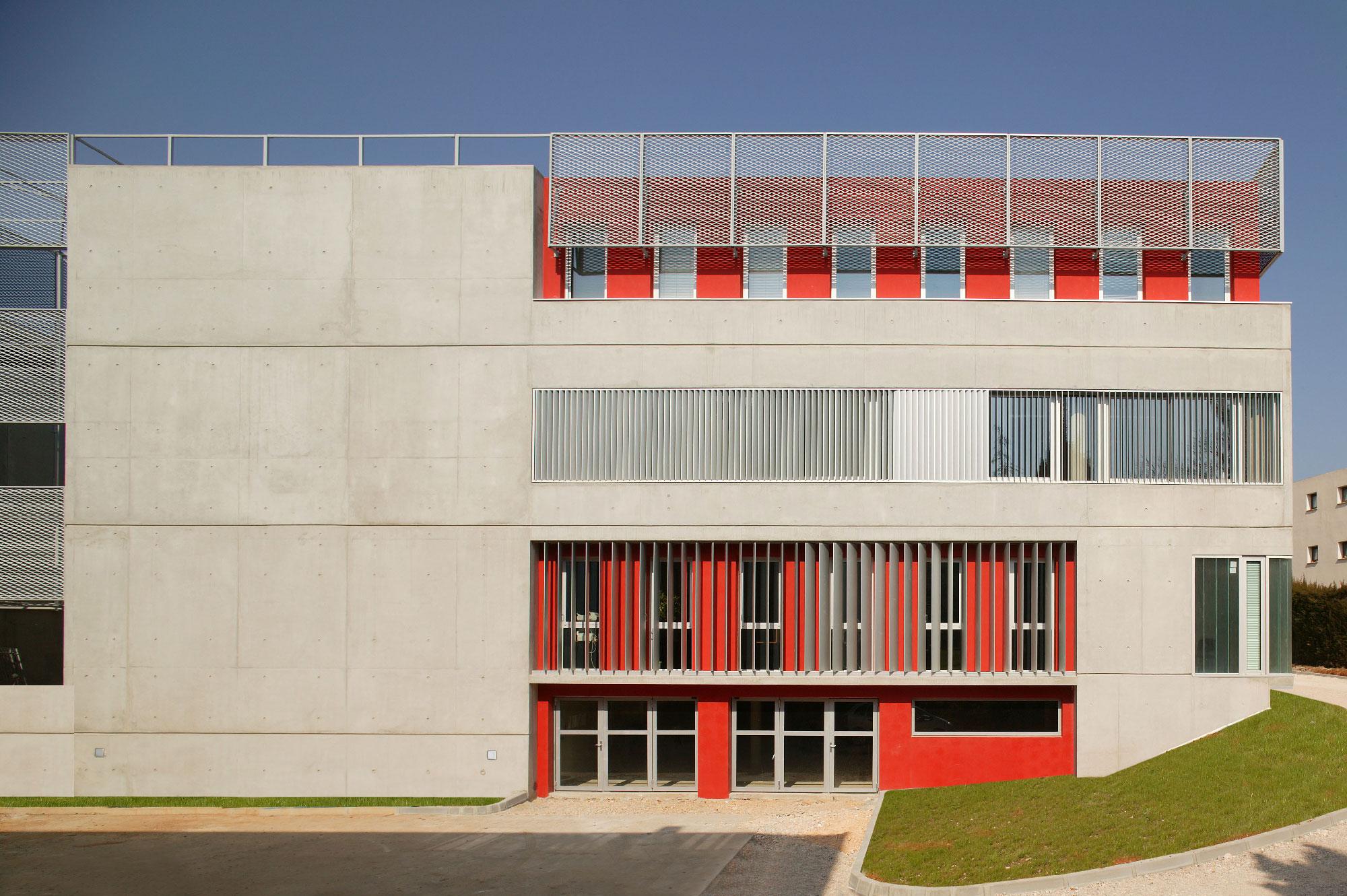 Photo de l'Institut d'études françaises pour étrangers – Eugène Ionesco - Montpellier - TAUTEM Architecture