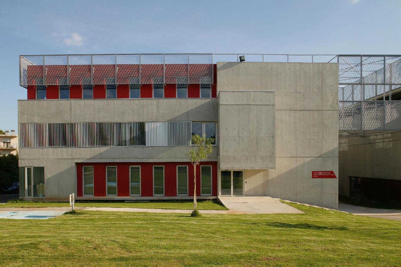Façade de l'Institut d'études françaises pour étrangers – Eugène Ionesco - Montpellier - TAUTEM Architecture -