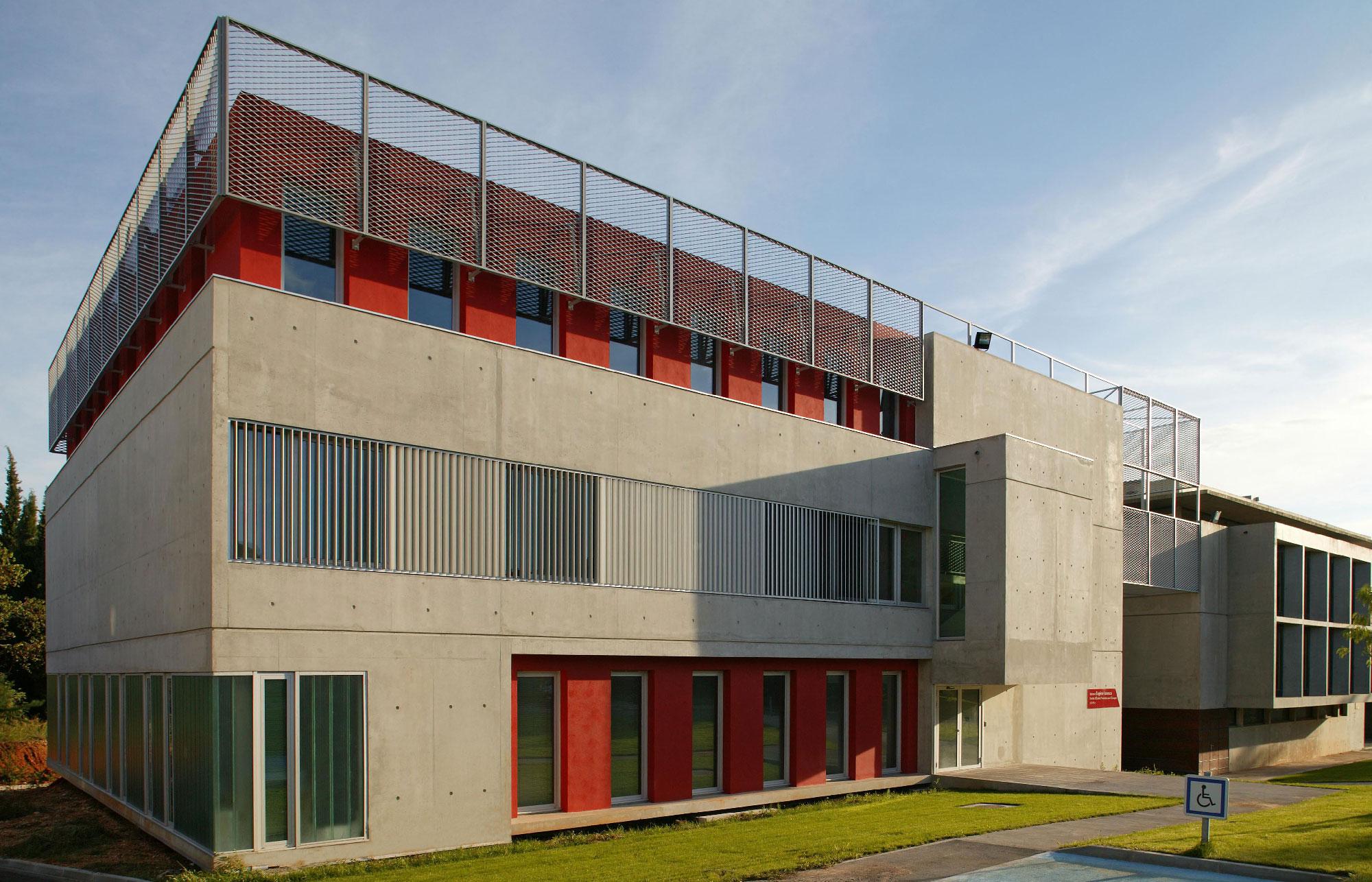 Vue globale - Institut d'études françaises pour étrangers – Eugène Ionesco - Montpellier - TAUTEM Architecture