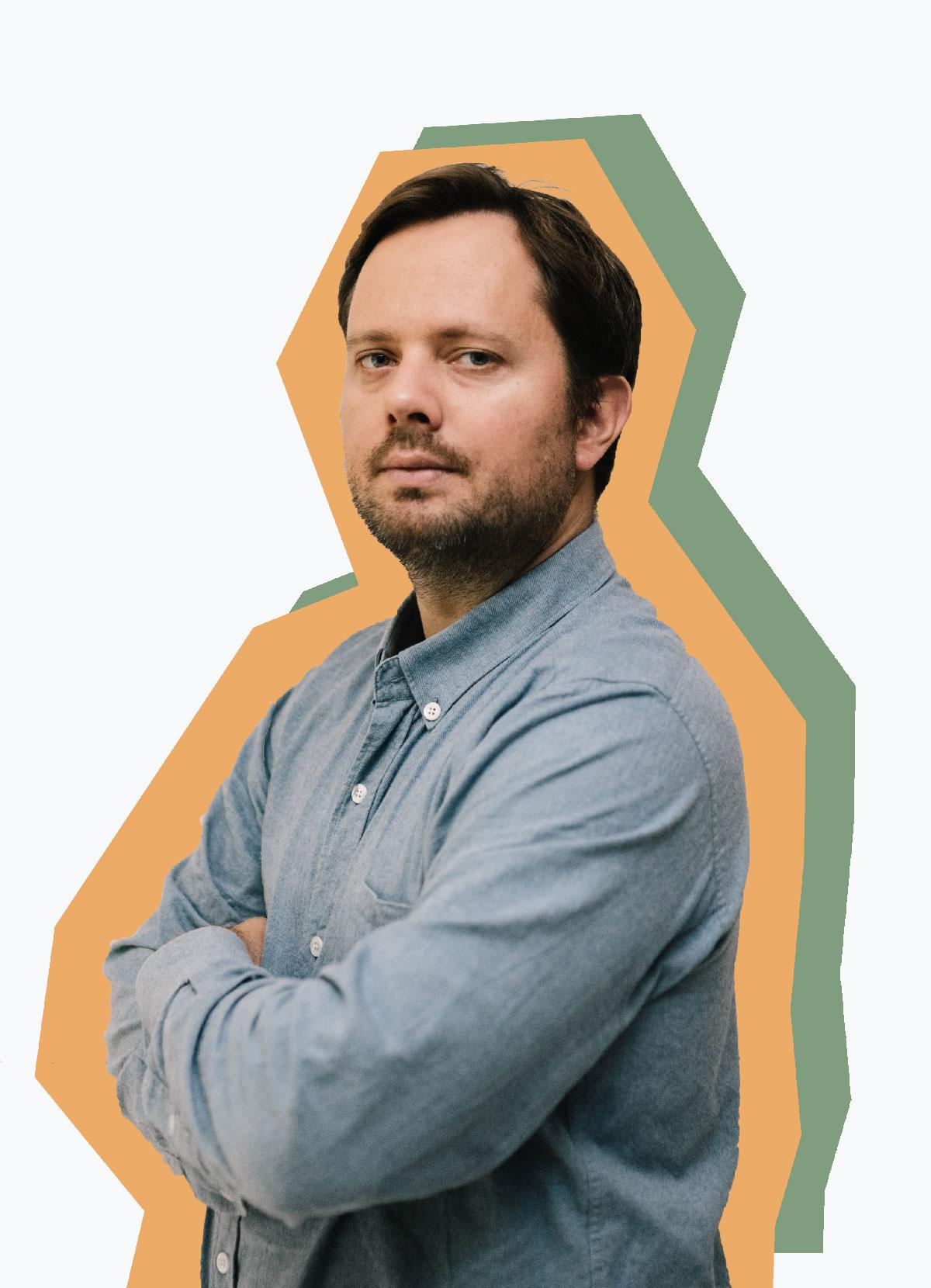 Portrait d'Adrian Garcin, associé gérant, Architecte EPF, TAUTEM Architecture Montpellier